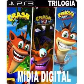 Crash Bandicoot 1,2,3 Ps3 Jogos Infantil Envio Imediato
