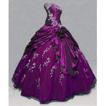 Vestido Quinceañera Color Purpura(encargue 7 Días)