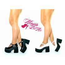 Zapatos Sandalias Mujer Guillerminas Bucaneras Taco Mujer