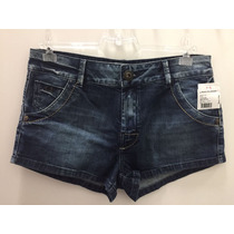 Short Feminino Jeans Lado Avesso