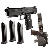 Tippmann Tpx Paintball Pistola Starter Kit - Negro
