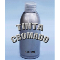 Tinta Efeito Cromado Tuning Chrome Cromagem Cromo 100 Ml