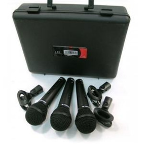 Proel Set 3 Microfonos Vocal Alta Frecuencia Mod. Dm800kit