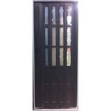 Puerta Plegable C/ Ventanas Acrilicas C/ Bisel 85 X 213 Cm