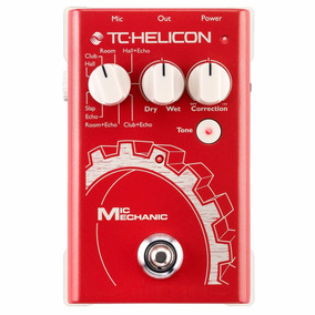 Pedal De Voz Tc-helicon Mic Mechanic Reverb/delay - Pd0659