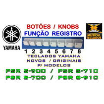 Botoes Regist 1 A 8 - Yamaha Psr S910/s900/s710/s700 Novo!