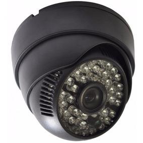 Camera Dome Ccd Infra Vermelho 48 Leds 50mts 1200linhas 3,6m