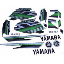Kit Adesivos Yamaha Xtz 125 2009 Preta