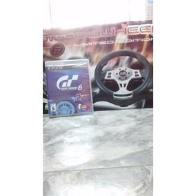 Volante Pc - Ps2 - Ps3 + Juego Gran Turismo 6