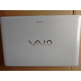Notebook Sony Vaio Branco I7 8gb Ram Hd 500gb Tela 15.6 Lind