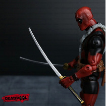 Boneco Deadpool Marvel Toy Figure Action Articulado - 16cm