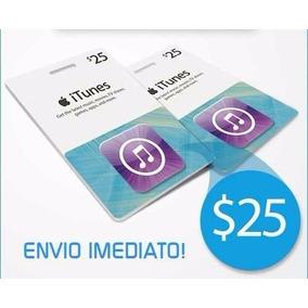 Cartão Itunes Gift Card $25