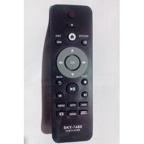 Controle Para Dvd Philips Dvp2850 E Dvp2880 Varios Modelos