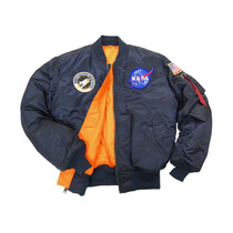 Chaqueta Alpha Industries De Piloto Ma1 Nasa