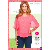 Blusa Cklass Rosa Neon Primavera Verano 2016 Envio Gratis
