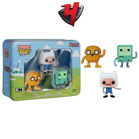 Finn Jake Bmo 3 Pack Mini Funko Pop Adventure Time Cartoon