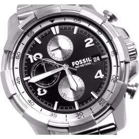 Reloj Fossil Acero Inoxidable Fs5112 Dean Steel Chronograph