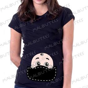 Blusa T-shirt Bebe Camiseta Gestante Gravida Chá De Bebê
