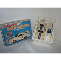 Antigo Carro Porsche Da Glasslite Radio Controlado Na Caixa