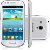 Samsung Galaxy S3 Mini I8190 8gb Novo+nota+cartão 16gb