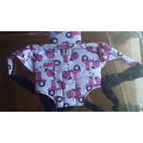 Mochila Porta Bebé Rosa- Cosas De Bebé