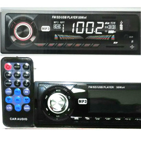 Auto Radio Mp3 Sd Usb Display Lcd Som Para Carro Barato