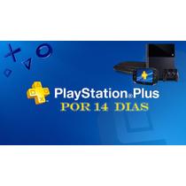 Playstation Plus 14 Dias Para Ps4, Ps3, Psplus