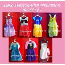 Disfraz Frozen Elsa Anna Minnie Bella Sofia Blancanieves