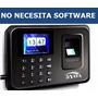 Reloj Checador Con Huella Digital - Biometrico A Usb