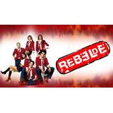 Novela Rebelde 1ª Temporada Completa Em Dvd - Frete Grátis