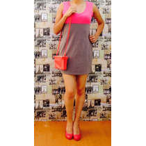 Vestido Licra Rosa Y Gristalla M Moda Internacionalmoda 0063