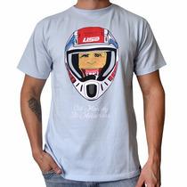 Camiseta Camisa De Moto Motocross Bike Manga Curta Marca Usa