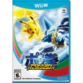 Videojuego Pokemon Pokken Tournament Nintendo Wii U