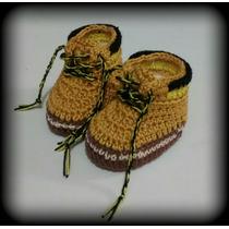 Zapatos Tematicos A Crochet Para Bebe (variedad De Modelos)