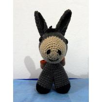 Burro Amigurumi Muñeco Crochet Deco
