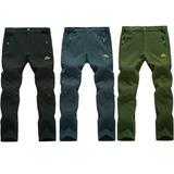 Pantalones De Trekking Termicos E Impermeables