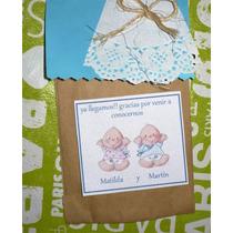 Souvenirs Mellizos Y Gemelos Nacimiento, Añito,baby Shower,