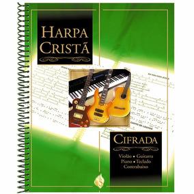 Livro Harpa Cristã Cifrada Com Manual De Cifras Completo