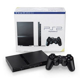 Playstation 2 Playstation 2 Consola Slim - Negro Negro