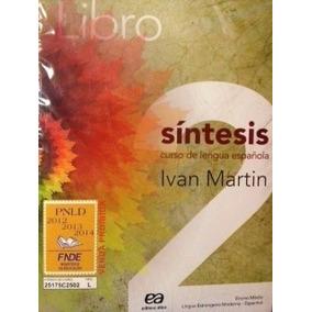 Libro - Síntesis Vol. 2 - Lingua Española Inclui 01 Cd