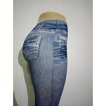 Calça Legging Jeans Feminina