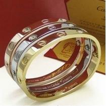 Pulsera Cartier Acero Quirúrgico Unisex