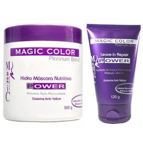 Magic Color - Hidro Máscara Power 500g + Leave-in 120g