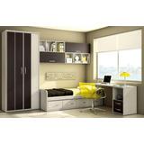 Dormitorio Juvenil Camade 1 1/2 Con Cajones