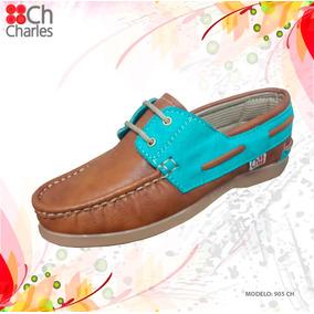 Zapatos Mocasín De Dama