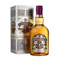 Whisky Chivas Regal 12 Años 750ml Origen Escocia Con Estuche