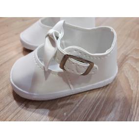 Zapato Bebe Nena Blanco Gordito. Cuotas Y Envio Gratis