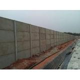 Muro De Placas De Concreto Instalado Com Garantia