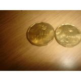 2 Monedas, 20 Y 50 Pesos - Mundial
