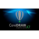 Corel Draw X7 + Complementos + Licencia De Por Vida